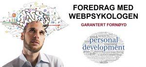 Foredrag med webpsykologen1