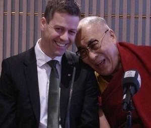 Hareide og dalai lama