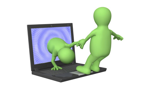 Internett bekjent møtes angst